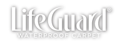 lifeguard waterproof carpet logo