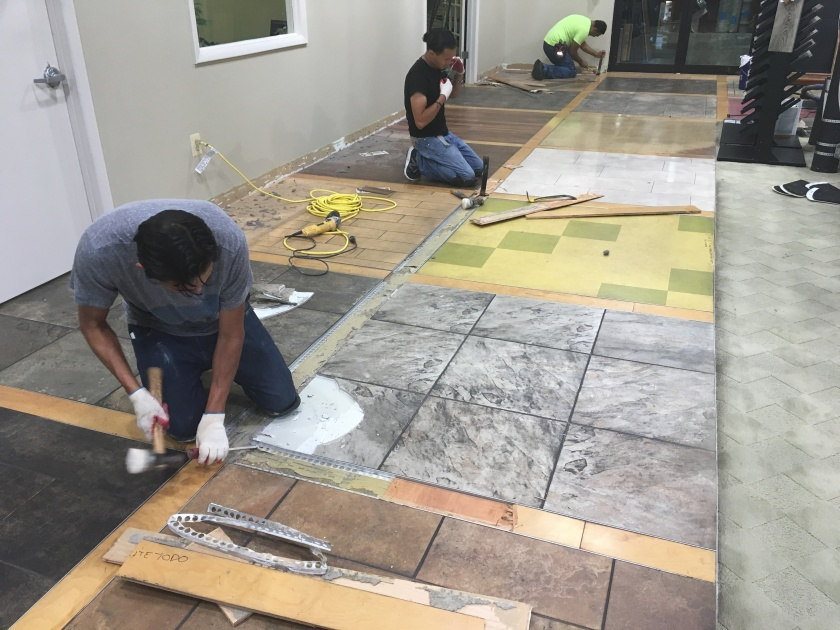 Removing flooring before installing CoreTec Luxury Vinyl Plank Tile