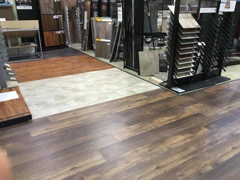 Waterproof vinyl plank lvt CoreTec flooring DC MD VA