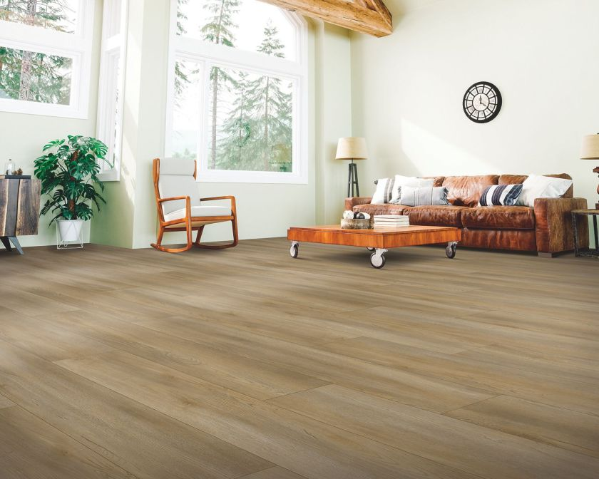 Cinammon Brulee Pergo Extreme Vinyl Plank flooring